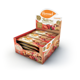 Barra Flormel- Nuts Plus com Cranberry e Morango Display 15x27g