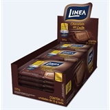 Chocolate Mini ao leite zero a��car Linea Sucralose - display 15x13g